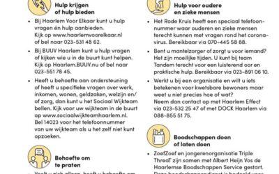 Informatie coronavirus