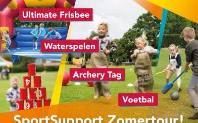 Programma SportSupport Zomertour