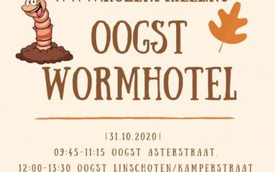 Oogst van de wormhotels!